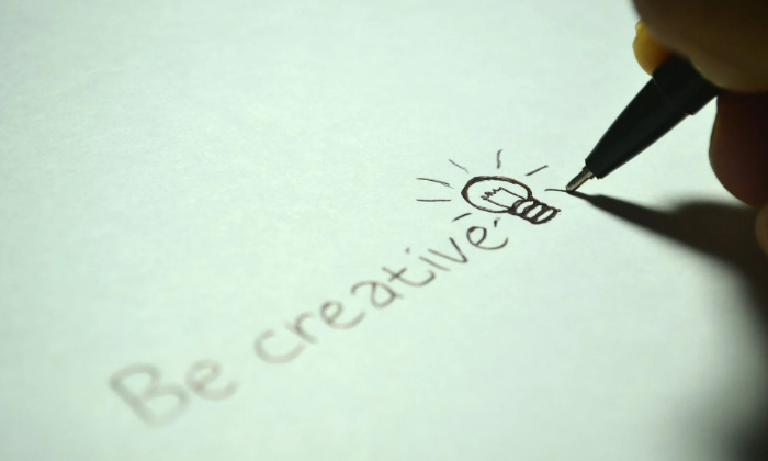 Be creative always
