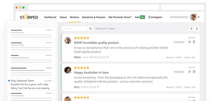 leverage customer reviews