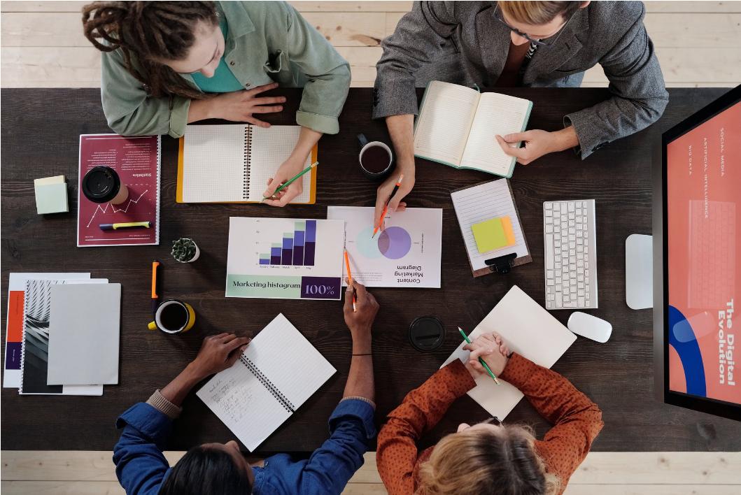 Work in unison with the digital marketing team