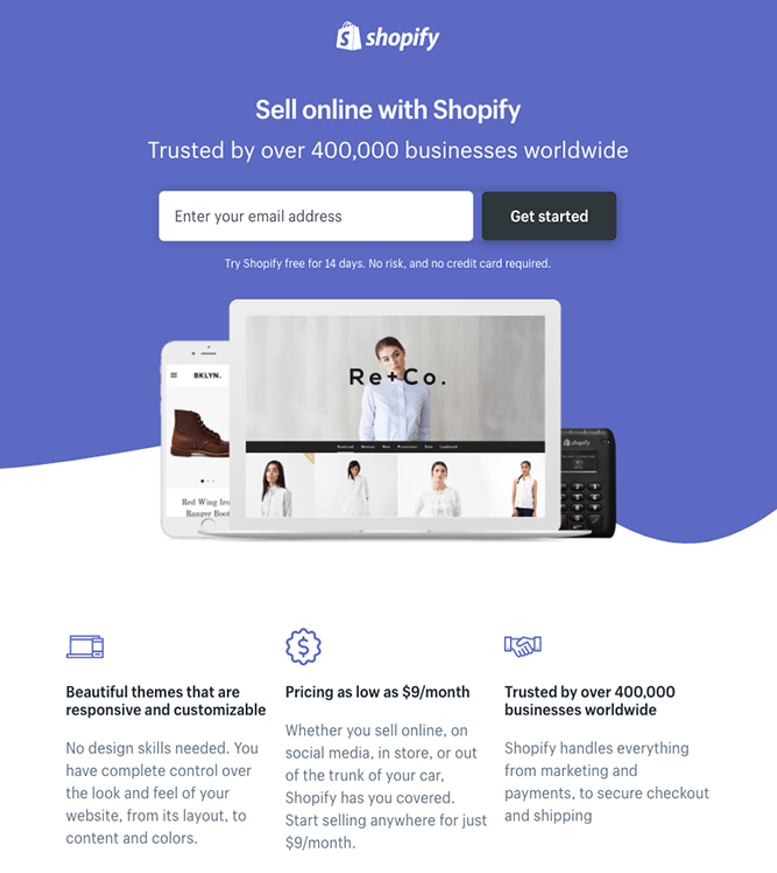 Create Impactful landing pages