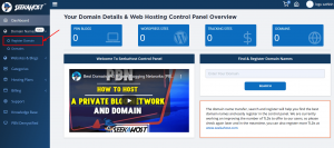 How to register your domain